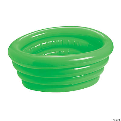 Inflatable Neon Green Tub Cooler