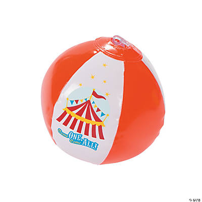 "Inflatable ""Over the Top"" Mini Beach Balls"