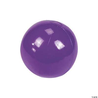 Inflatable Purple Beach Balls