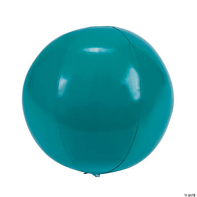 Inflatable Teal Beach Balls