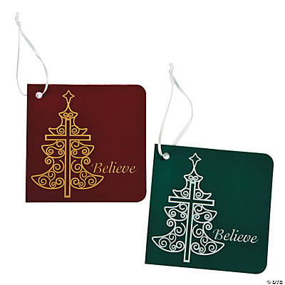 Inspirational Christmas Favor Tags