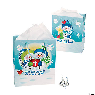 Inspirational Christmas Kids Gift Bags