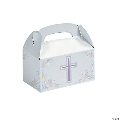 Inspirational Cross Treat Boxes