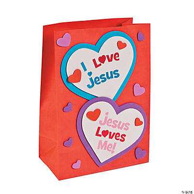 Inspirational valentine holder craft kit oriental for Inspirational valentine crafts
