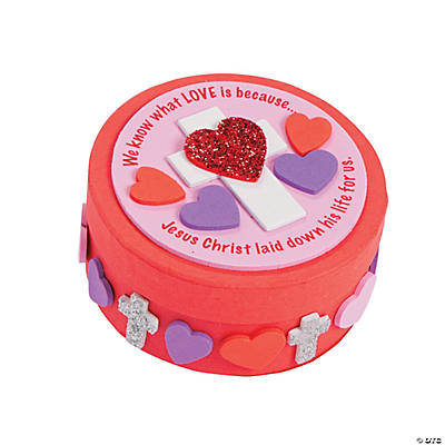 Inspirational Valentine Prayer Box Craft Kit