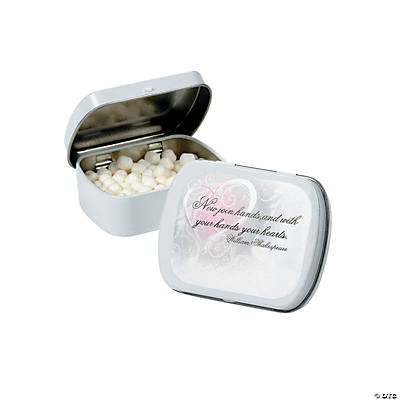 Inspirational Wedding Mint Tin Stickers Oriental Trading