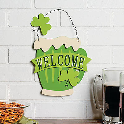 "Irish Mug ""Welcome"" Sign"