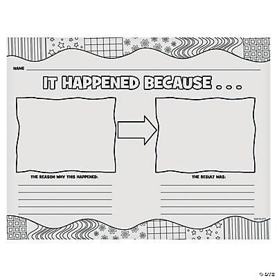 It Happened Because...Katie Woo Printable Worksheet