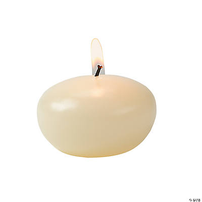 Ivory Floating Candles