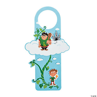 Jack & the Beanstalk Doorknob Hanger Craft Kit