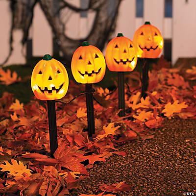 Jack O Lantern Path Marker Party Lights