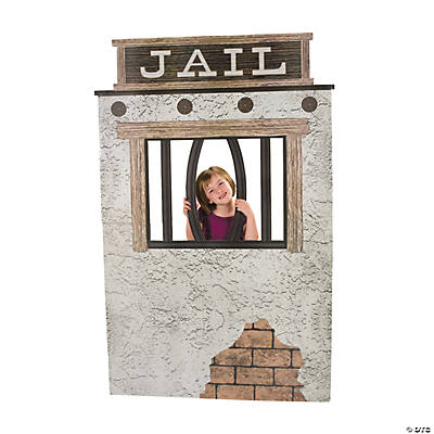 Jail Cell Photo Cardboard Stand-Up