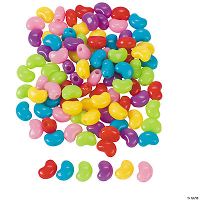 Jelly Bean Beads - 12mm