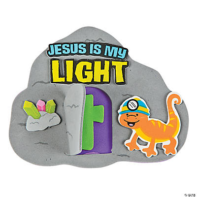 Jesus is My Light Magnet Craft Kit - Oriental Trading ...