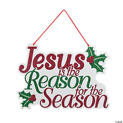 """Jesus Is the Reason"" Door Hanger"