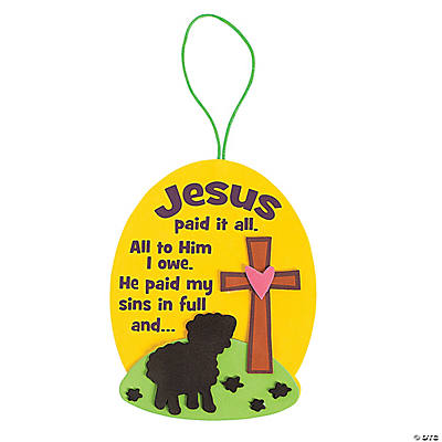 Jesus Paid It All Sign Craft Kit