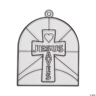 Jesus Saves Suncatchers