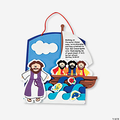 Jesus Walking on Water Craft Kit
