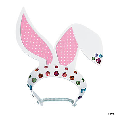 Jewel Bunny Ears Craft Kit