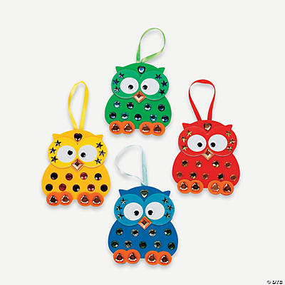 Jewel Owl Craft Kit