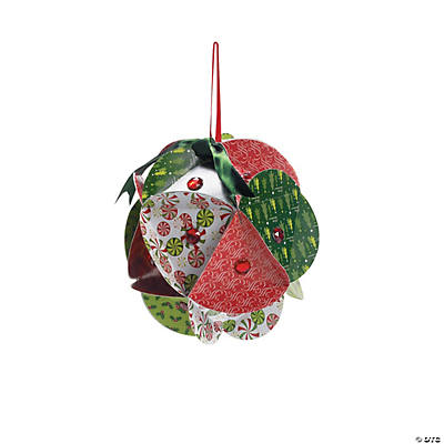 Jeweled Christmas Ornament Paper Craft Kit
