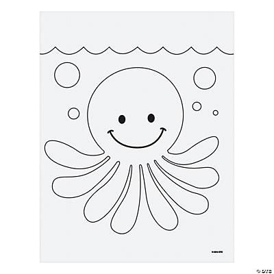 Octopus Mosaic Template Idea