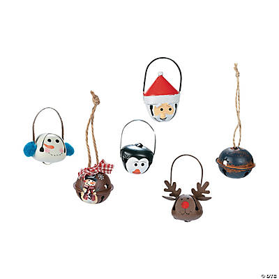 Jingle Bell Christmas Ornament Assortment