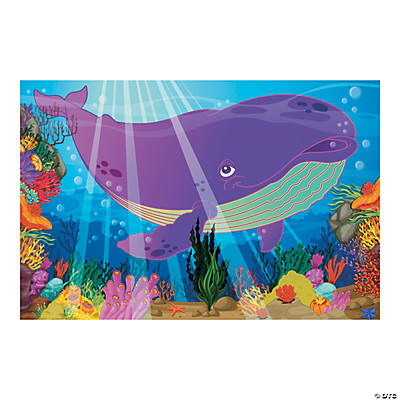 Jonah The Whale Backdrop Banner