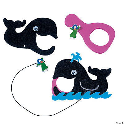 Jonah & the Whale Catch Game Craft Kit