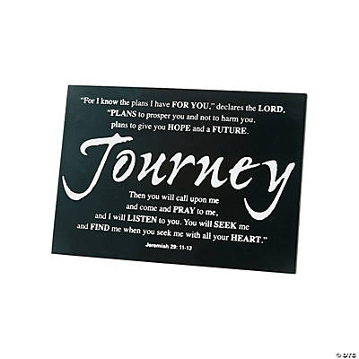 Journey Tabletop Graduation Plaque