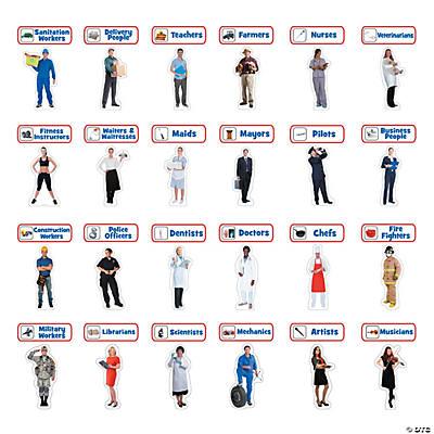 Jumbo community helper cutouts oriental trading discontinued