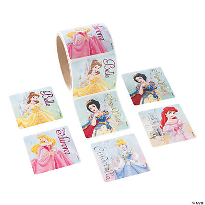 Jumbo Disney Princesses Roll of Stickers