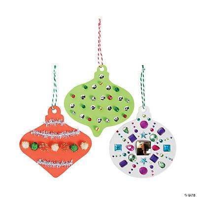 Jumbo Foam Christmas Ornaments