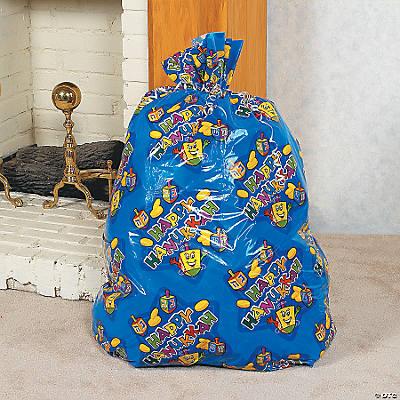 jumbo hanukkah gift bags in 4 3643 null jumbo hanukkah gift bags wrap ...