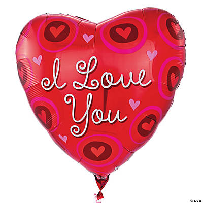 "Jumbo ""I Love You"" Mylar Balloon"