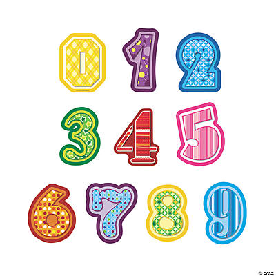 Jumbo Number Cutouts