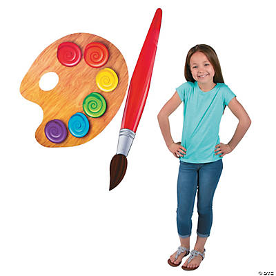 Jumbo Painting Set Cutouts