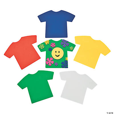 24 Jumbo T-Shirt Shapes