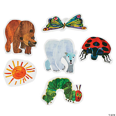The World of Eric Carle Cutouts – Eric Carle Birthday Invitations