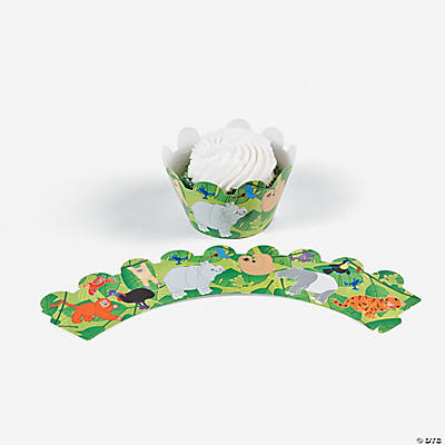 Jungle Animal Cupcake Wrappers