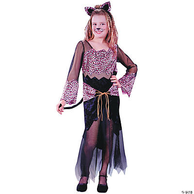 Jungle Cat Jane Girl's Costume