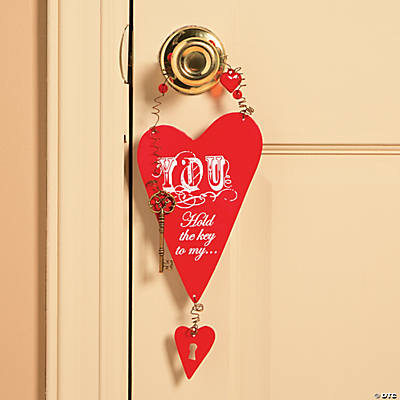 Key To My Heart Valentine Sign
