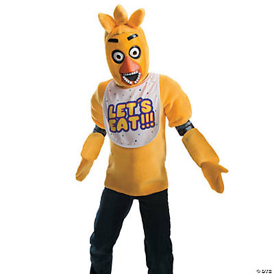 Kid's Deluxe Five Nights at Freddy's Chica Costume