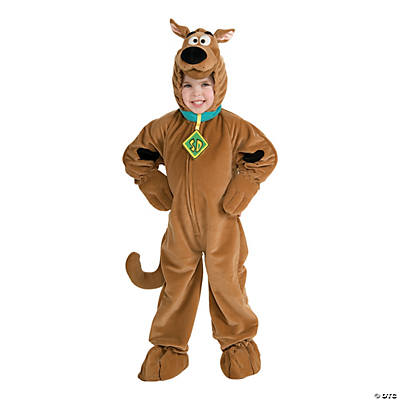 Kid's Deluxe Velour Scooby-Doo Costume