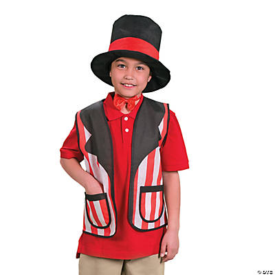 Kid's Carnival Hat & Vest Set