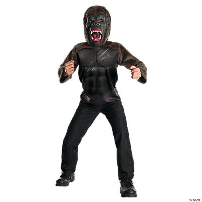 Kid's Deluxe King Kong Costume