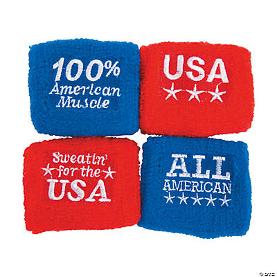 Kids' Patriotic Wristbands