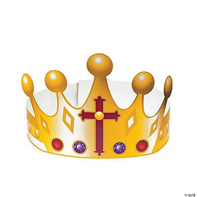 King of Kings Paper Crowns