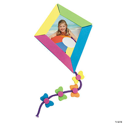 Kite Picture Frame Magnet Craft Kit