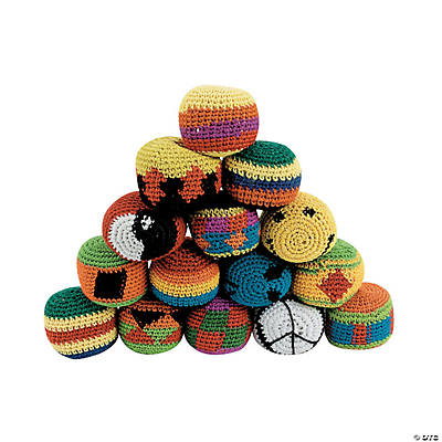Knitted Kick Ball Assortment